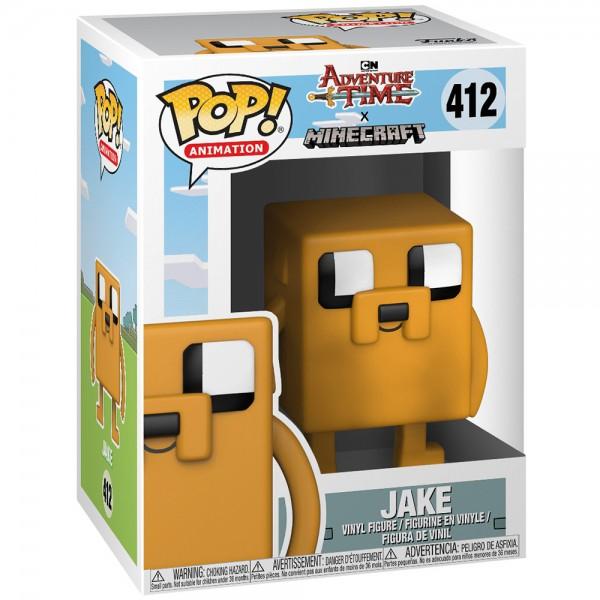 Фигурка Funko POP! Vinyl: Adventure Time/Minecraft: Jake the Dog