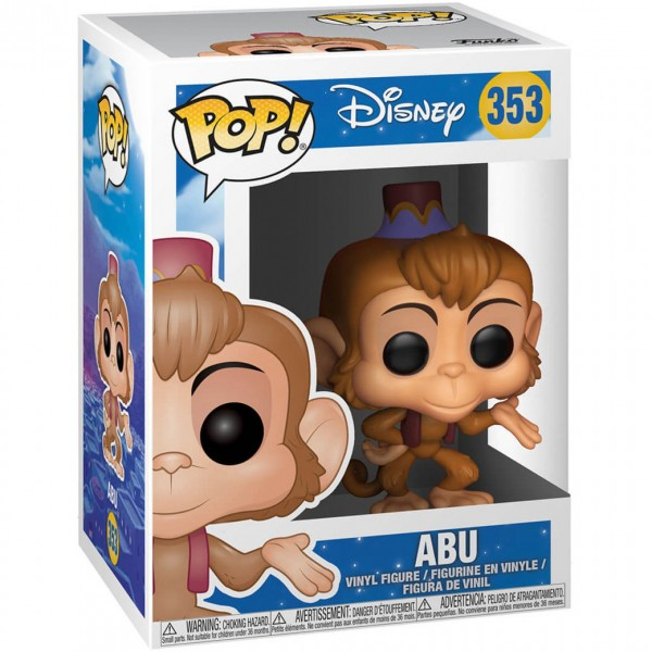 Фигурка Funko POP! Vinyl: Disney: Aladdin: Abu
