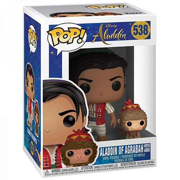 Фигурка Funko POP! Vinyl: Disney: Aladdin (Live): Aladdin with Abu