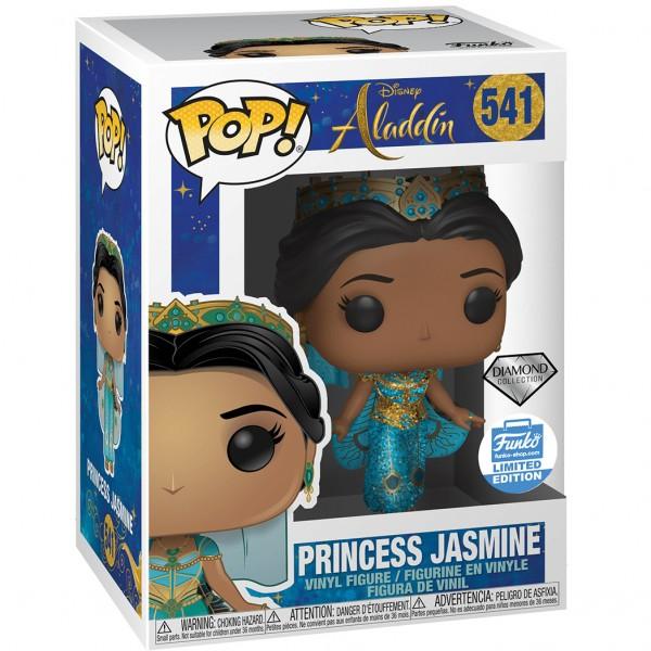 Фигурка Funko POP! Vinyl: Disney: Aladdin (Live): Princess Jasmine Diamond (Эксклюзив)