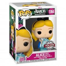 Фигурка Funko POP! Disney: Alice in Wonderland: Alice with Bottle (Exc)