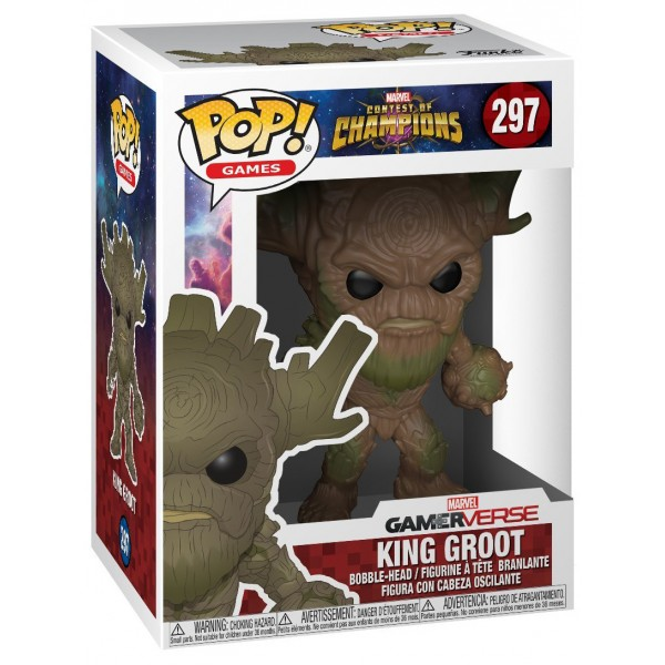 Фигурка Funko POP! Games: Marvel Contest of Champions: King Groot
