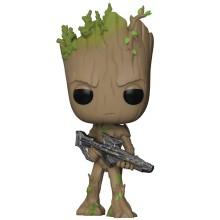 Фигурка Funko POP! Bobble: Marvel: Avengers Infinity War: Groot with Gun