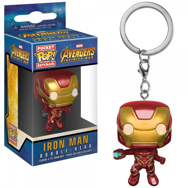 Брелок Funko Pocket POP! Keychain: Marvel: Avengers Infinity War: Iron Man