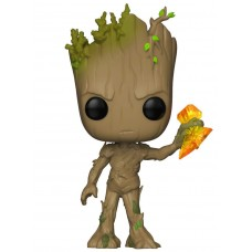 Фигурка Funko POP! Bobble: Marvel: Avengers Infinity War: Groot with Stormbreaker