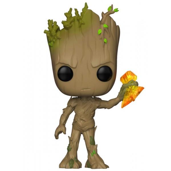 Фигурка Funko POP! Bobble: Marvel: Грут с Штормбрейкером (Groot with Stormbreaker)
