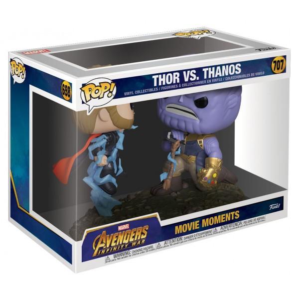 Фигурка Funko POP! Vinyl: Marvel: Movie Moments: Thor vs Thanos