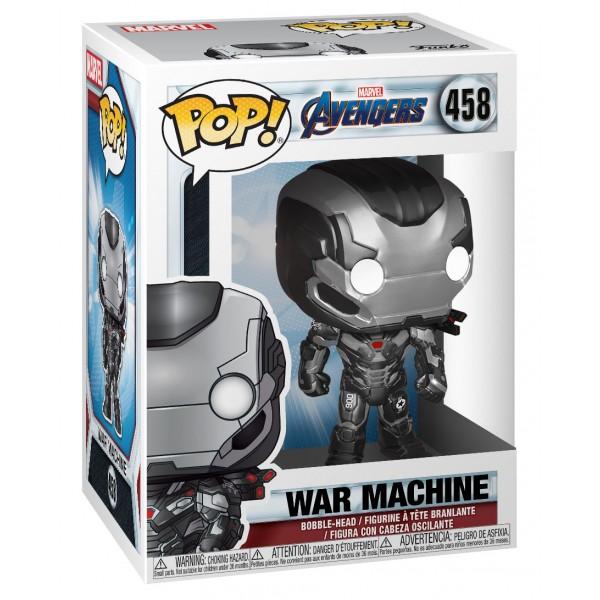 Фигурка Funko POP! Bobble: Marvel: Avengers Endgame: War Machine