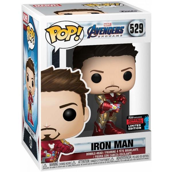 Фигурка Funko POP! Bobble: NYCC Exc: Marvel: Avengers Endgame: Iron Man w/Gauntlet (Эксклюзив)