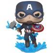 Фигурка Funko POP! Bobble: Marvel: Avengers Endgame: Captain America w/Broken