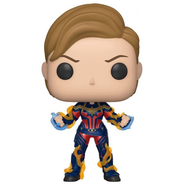 Фигурка Funko POP! Marvel: Avengers Endgame: Капитан Марвел с короткими волосами