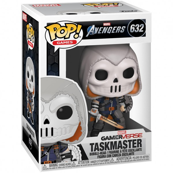 Фигурка Funko POP! Bobble: Marvel: Avengers Game: Taskmaster