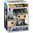 Фигурка Funko POP! Vinyl: BTTF: Doc with Helmet
