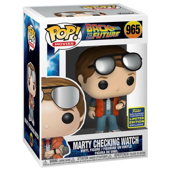 Фигурка Funko POP! SDCC: BTTF: Marty checking Watch (Эксклюзив)