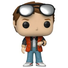Фигурка Funko POP! SDCC: BTTF: Marty checking Watch (Exc)