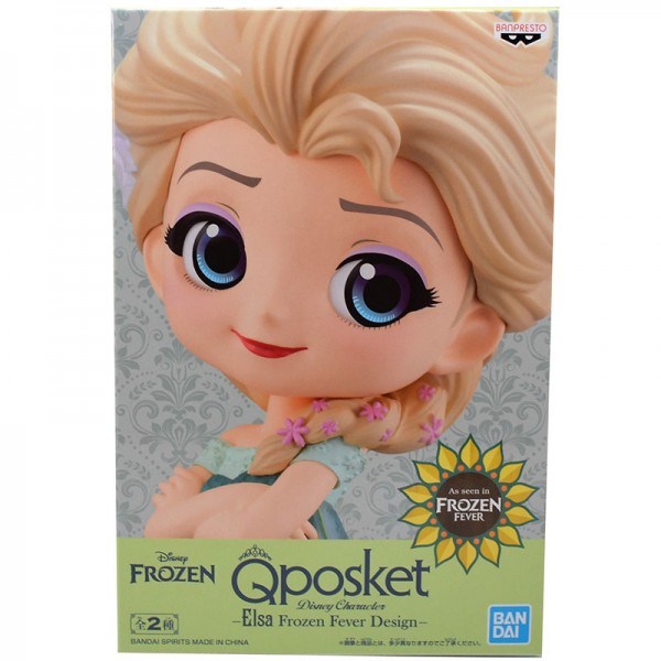 Фигурка Q Posket Disney Characters: Elsa Surprise Coordinate (Light color)