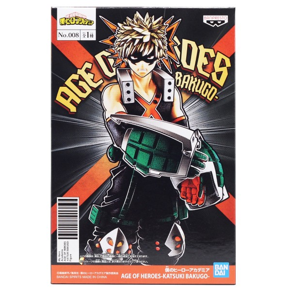 Фигурка My Hero Academia: Age Of Heroes Katsuki Bakugo