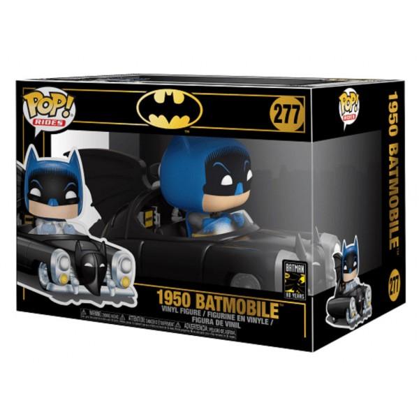 Фигурка Funko POP! Rides: Batman 80th: 1950 Batmobile (MT) (Эксклюзив)
