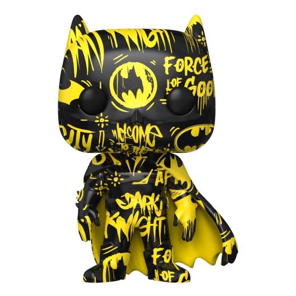 Фигурка Funko POP! Art Series DC Batman 01 Black/Yellow (Exc)