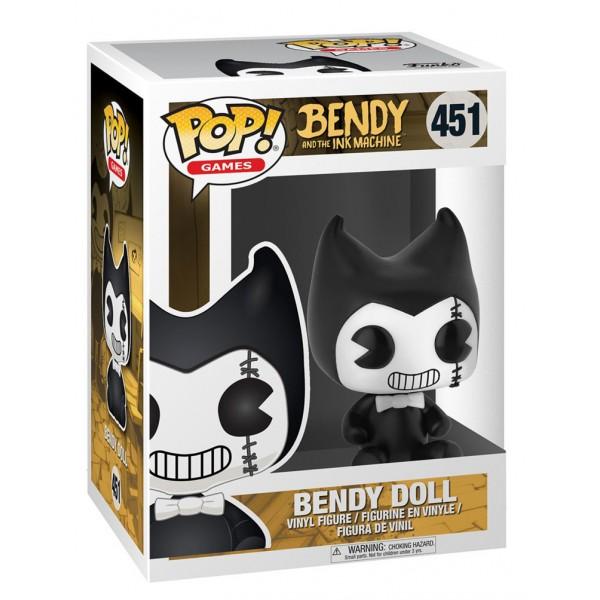 Фигурка Funko POP! Vinyl: Games: Бенди и чернильная машина: Bendy Doll