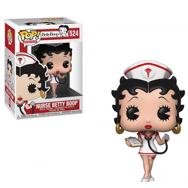 Фигурка Funko POP! Vinyl: Betty Boop: Бетти Буп в образе медсестры