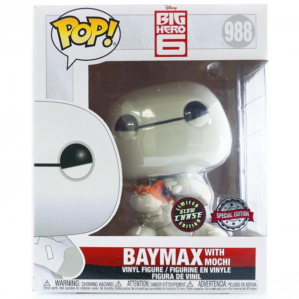 Фигурка Funko POP!  Big Hero 6: Baymax with Mochi CHASE