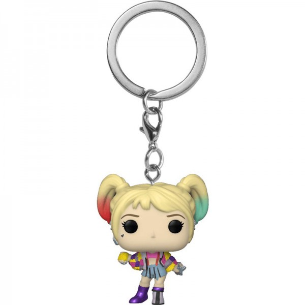 Брелок Funko Pocket POP! Keychain: Birds of Prey: Harley Quinn (Caution Tape)