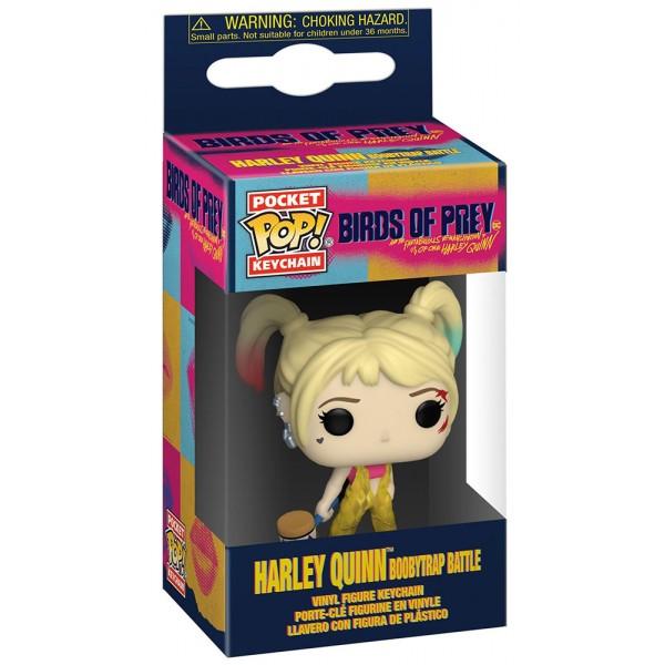 Брелок Funko Pocket POP! Keychain: Birds of Prey: Harley Quinn (Boobytrap Battle)