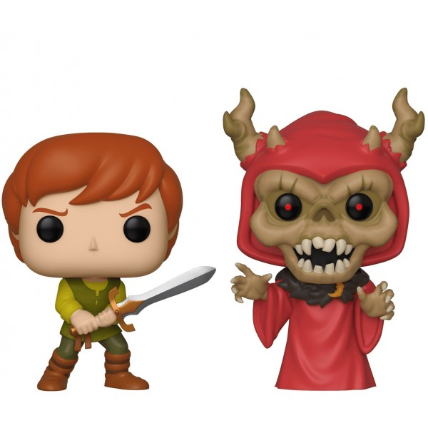 Фигурка Funko POP! Vinyl: Disney: Black Cauldron: Taran and Horned King (Эксклюзив)