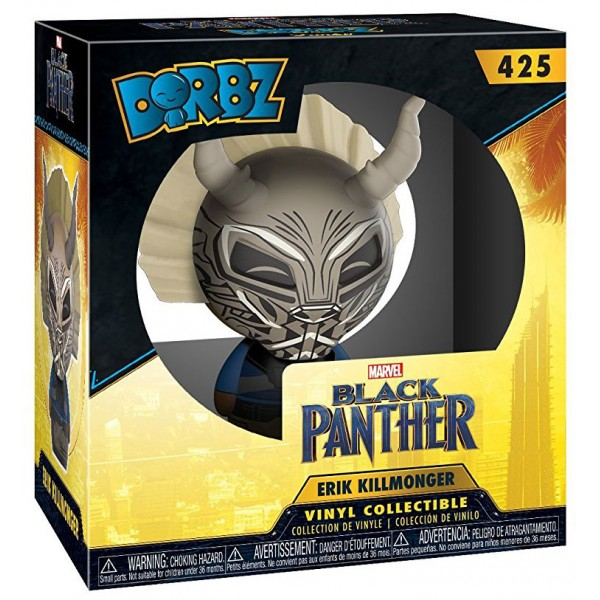 Фигурка Funko Dorbz: Marvel: Black Panther: Эрик Киллмонгер в маске