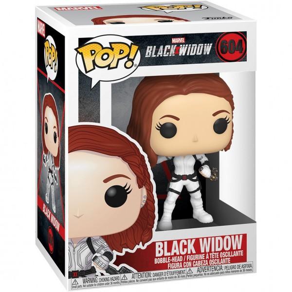 Фигурка Funko POP! Bobble: Marvel: Black Widow (White Suit)