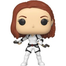 Фигурка Funko POP! Bobble: Marvel: Black Widow (White Suit)