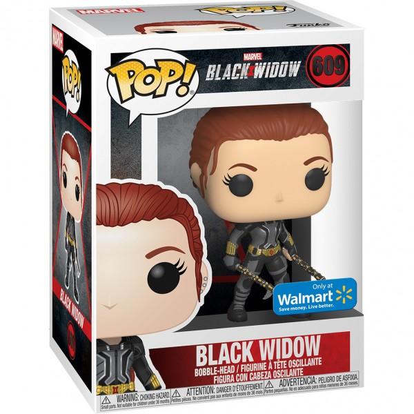 Фигурка Funko POP! Bobble: Marvel: Black Widow in Grey Suit (Эксклюзив)