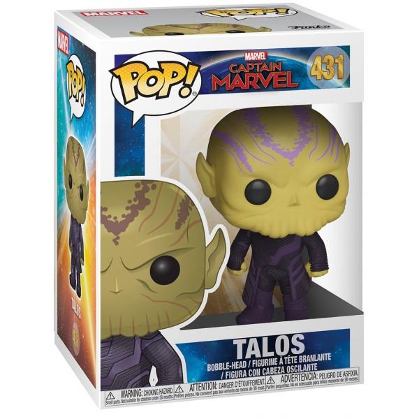 Фигурка Funko POP! Bobble: Marvel: Captain Marvel: Talos