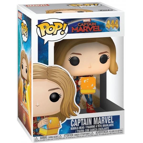 Фигурка Funko POP! Bobble: Marvel: Captain Marvel with Lunch Box
