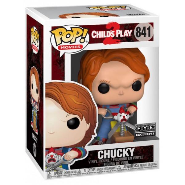 Фигурка Funko POP! Vinyl: Horror: Chucky with Scissors and Jack in the Box (Эксклюзив)