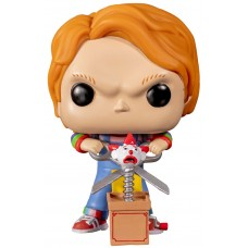Фигурка Funko POP! Vinyl: Horror: Chucky with Scissors and Jack in the Box (Эксклюзив)