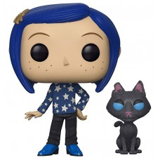 Фигурка Funko POP! Vinyl: Coraline: Coraline with Cat buddy
