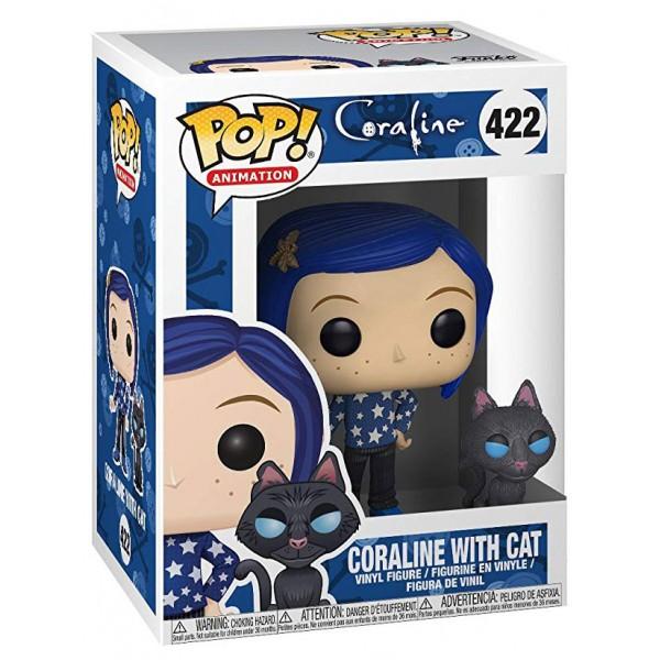 Фигурка Funko POP! Vinyl: Coraline: Coraline with Cat buddy