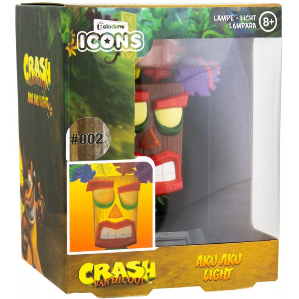 Светильник Crash Bandicoot Aku Aku Icon Light V2