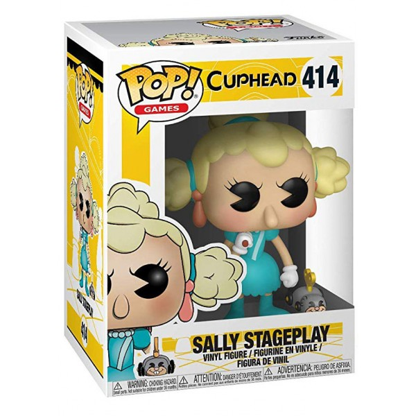Фигурка Funko POP! Vinyl: Games: Cuphead: Sally & Wind Up Mouse