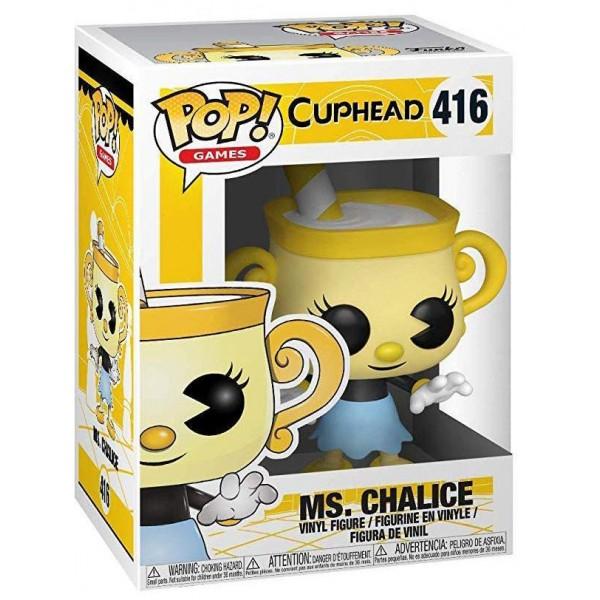Фигурка Funko POP! Vinyl: Games: Cuphead: Ms. Chalice