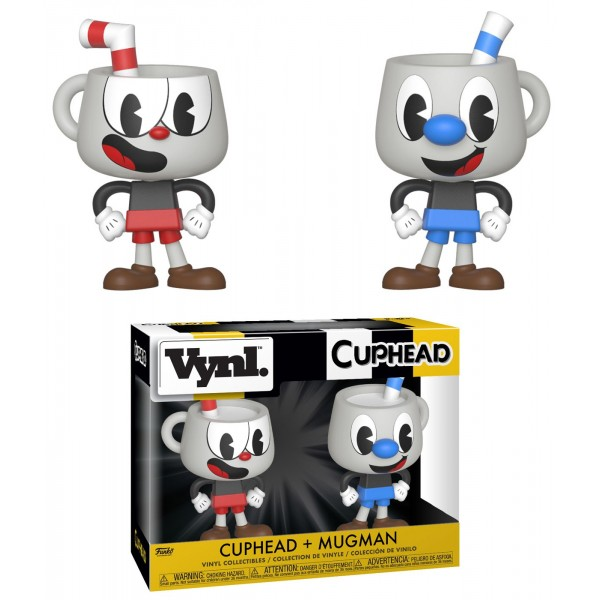 Фигурка Funko VYNL: Disney: Cuphead & Mugman