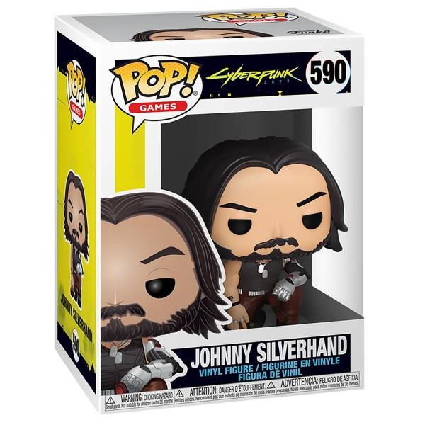 Фигурка Funko POP! Vinyl: Games: Cyberpunk 2077: Johnny Silverhand (Джонни Сильверхенд)