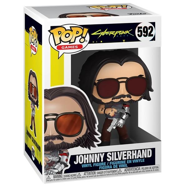 Фигурка Funko POP! Vinyl: Games: Cyberpunk 2077: Johnny Silverhand with Guns