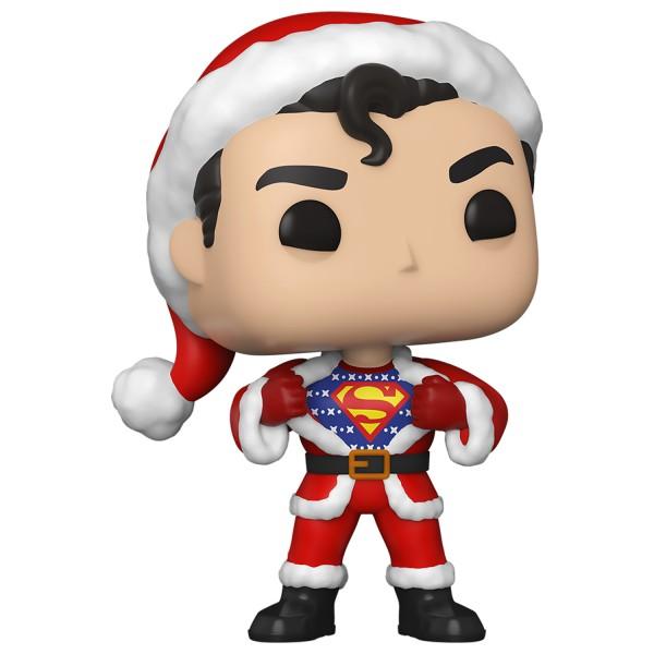 Фигурка Funko POP! Vinyl: DC: Holiday: Супермен в рождественском свитере