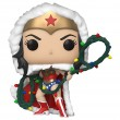 Фигурка Funko POP! Vinyl: DC: Holiday: Чудо-женщина с лассо гирляндой