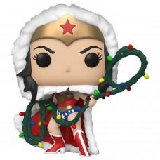 Фигурка Funko POP! Vinyl: DC: Holiday: Wonder Woman with Christmas Lights Lasso
