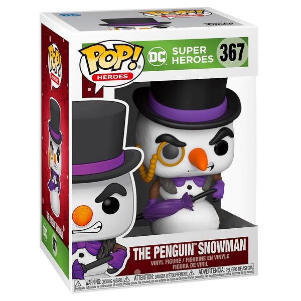 Фигурка Funko POP! Vinyl: DC: Holiday: Пингвин Снеговик