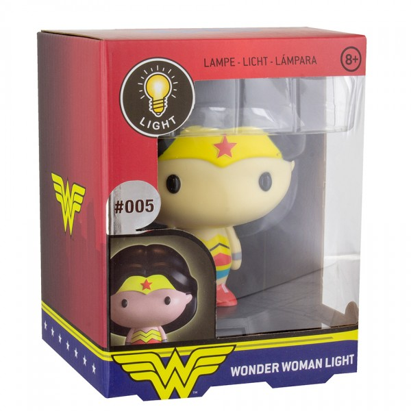 Светильник DC Wonder Woman 3D Character Light